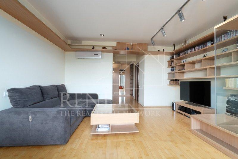 Apartament 3 camere Herastrau, terasa cu vedere libera (loc de parcare inclus)